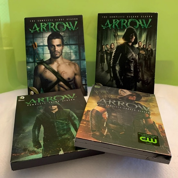 Arrow TV series seasons 1-4